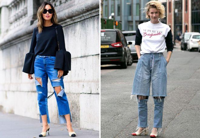 модны ли рваные джинсы в 2018