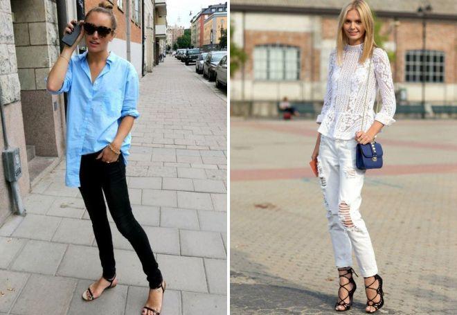 какие джинсы в моде в 2018