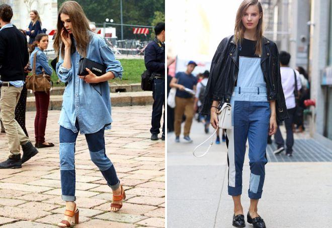 джинсы тренд 2018