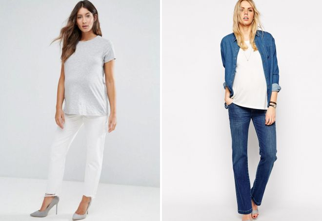 джинсы прямые для женщин