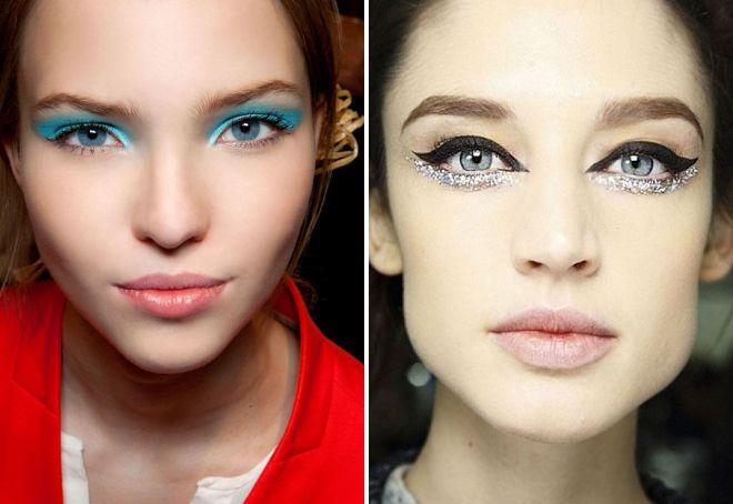 тренды макияжа весна лето 2018