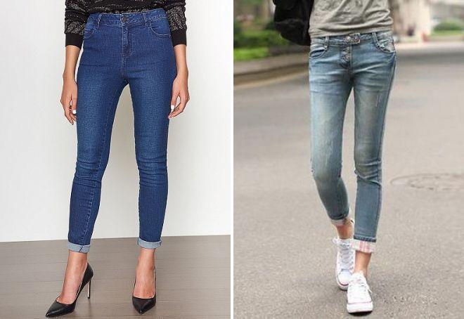 очень узкие джинсы