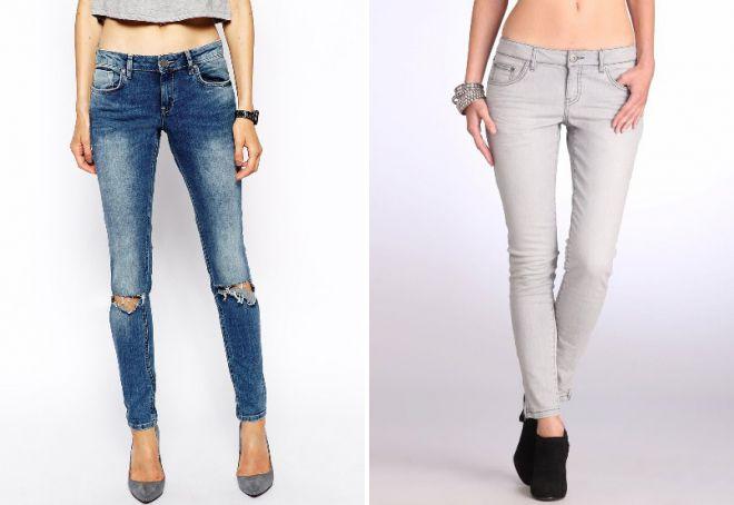 кому идут узкие джинсы