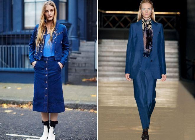 b46379b3be48 Цвет индиго – в одежде, палтье, джинсы, свитер, шуба, куртка, пальто ...