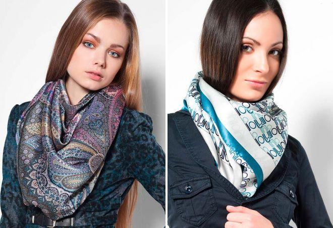 красивый платок шарф
