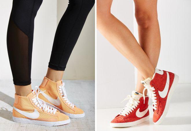 высокие кеды Nike