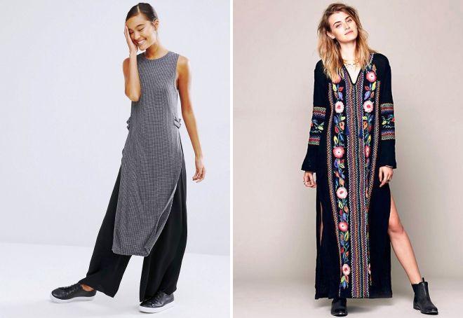 женская туника платье