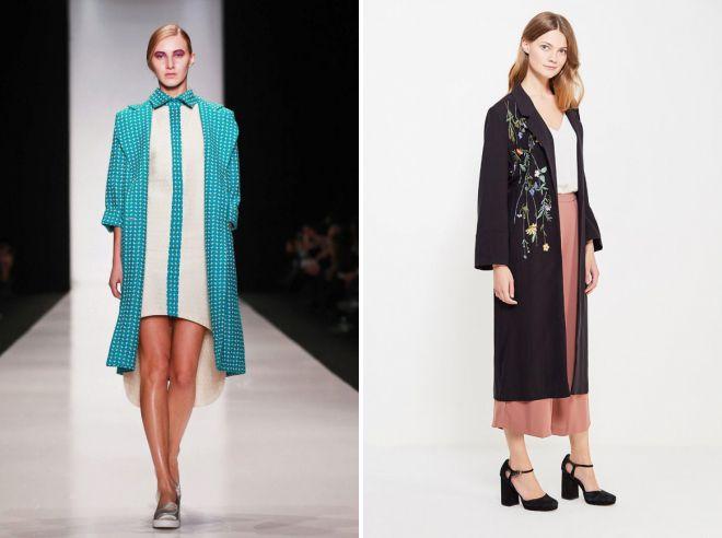летнее легкое пальто 2018 модные тенденции