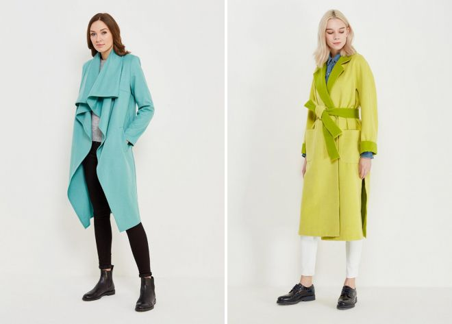 демисезонное легкое пальто 2018