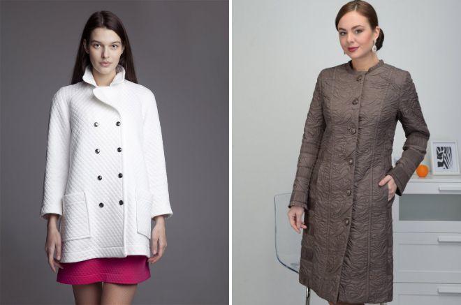 модели легкого пальто