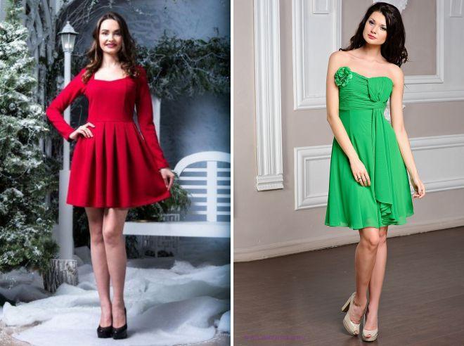 платье с высокой талией и пышной юбкой