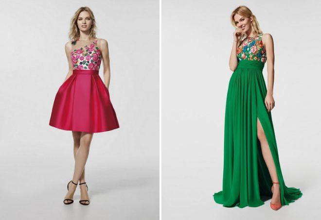 styles de mode pour robes de bal année 2018