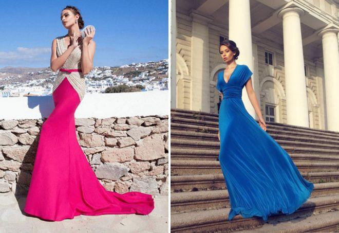 couleur de la robe sur l'année 2018 du bal