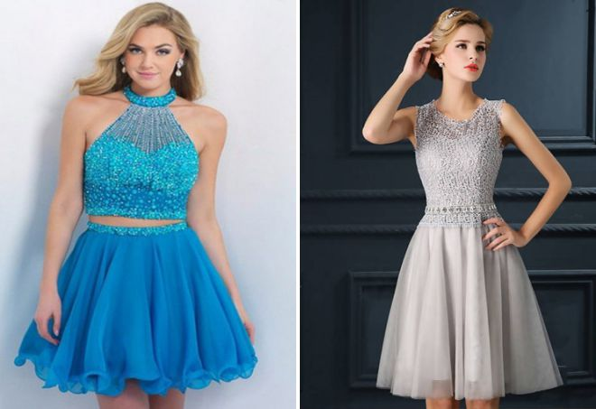 robes de mode pour l'année 2018 du bal
