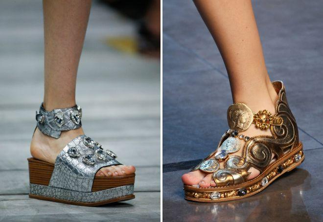 chaussures d'été élégantes 2018