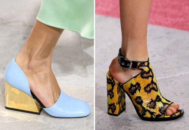chaussures d'été à talons 2018