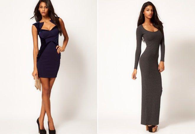 32d76f8334d Модное обтягивающее платье – длинное в пол