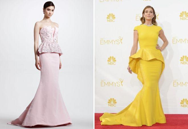 модные платья рыбка 2017