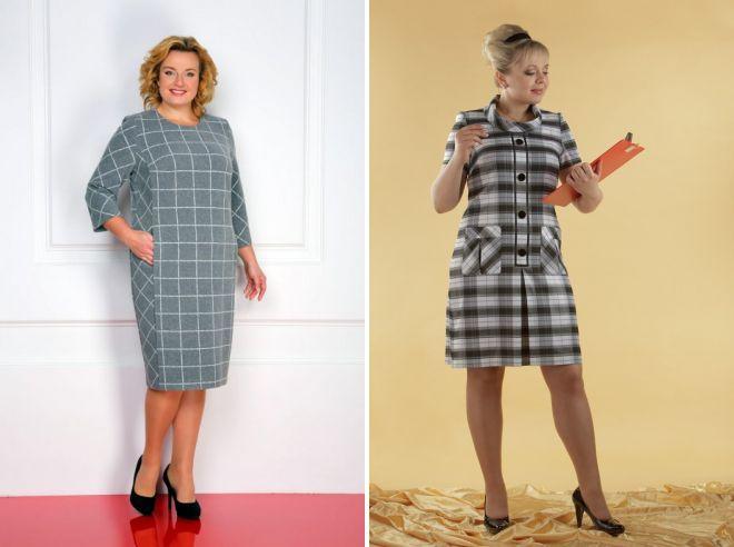 d4861095affa21a Платье в клетку – короткое и длинное, повседневное и вечернее ...