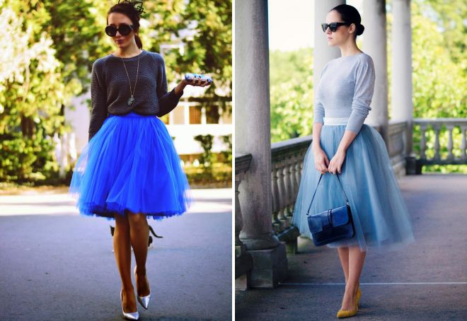 юбка пачка с чем носить