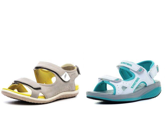 брендовые спортивные сандалии
