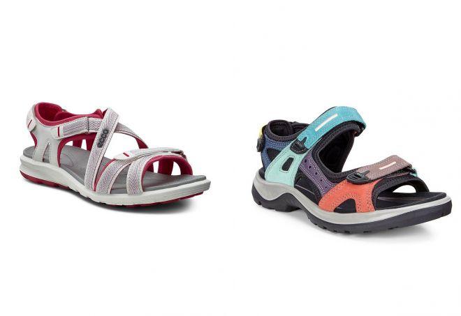 женские спортивные сандалии экко