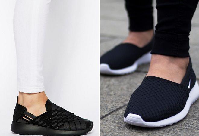 модная женская обувь найк