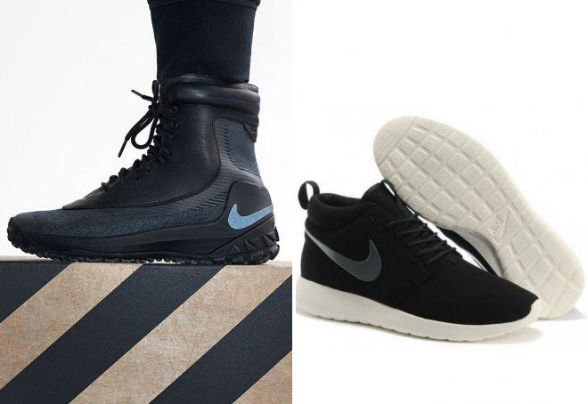 утепленная женская обувь найк