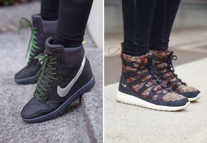 женские ботинки найк