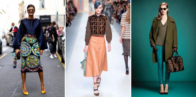 модные стили в одежде 2018