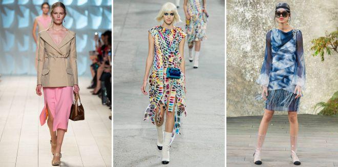 модные стили в одежде лето 2018