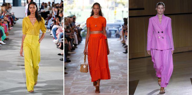 модные цвета 2018 года в одежде