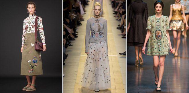 модные детали в женской одежде 2018