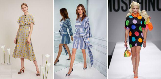 модный принт в одежде 2018