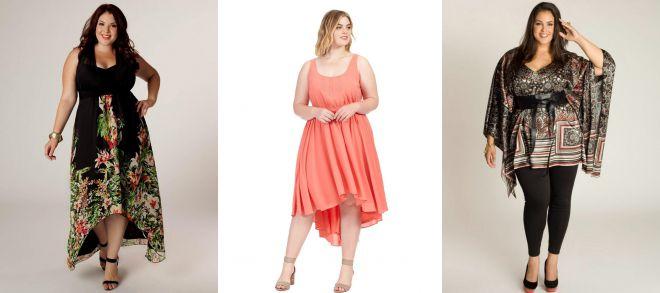модная одежда для полных женщин 2018
