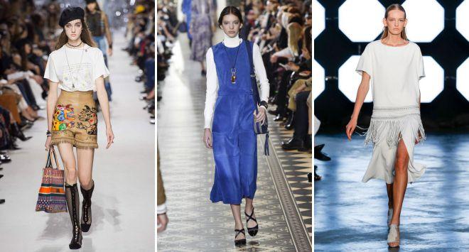 модная женская одежда лето 2018