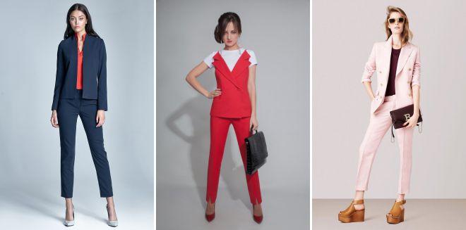 модная женская классическая одежда 2018