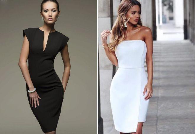 красивые облегающие платья