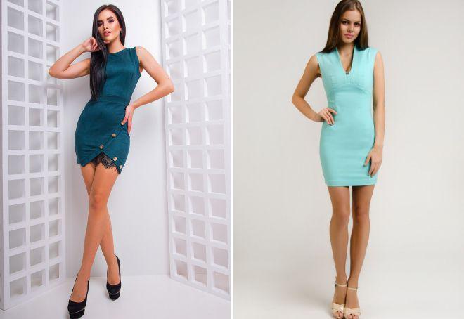 стильные облегающие платья