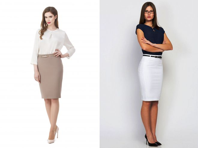 летние юбки для офиса