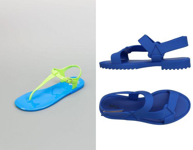 пляжные резиновые сандалии