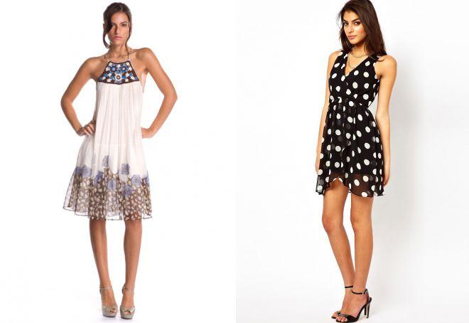 79948352f9a Šifónové šaty - 72 foto krásných modelů pro léto