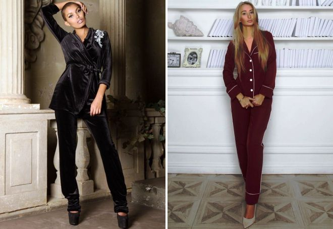 Пижамный стиль в одежде – женские брюки 701c57dae2636