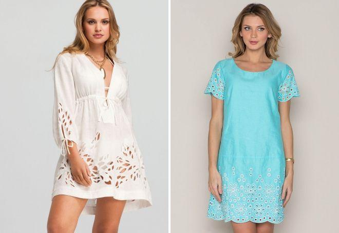 летние хлопковые платья