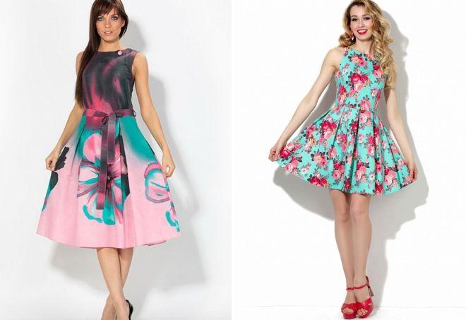 модные хлопковые платья