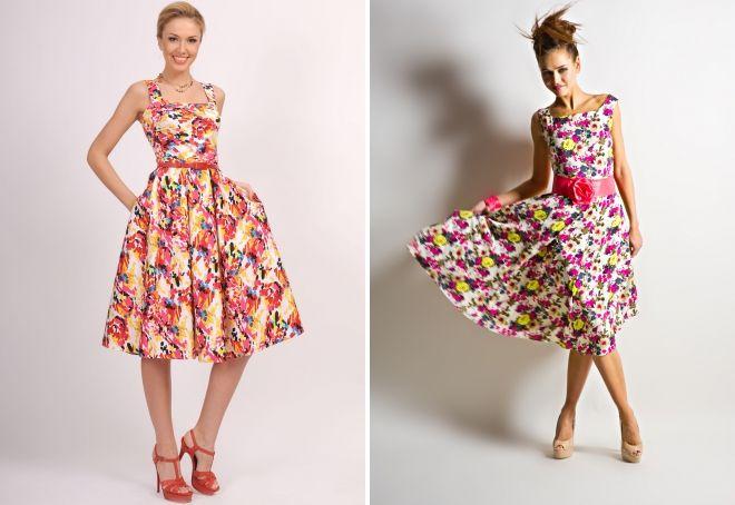 хлопковые платья на лето