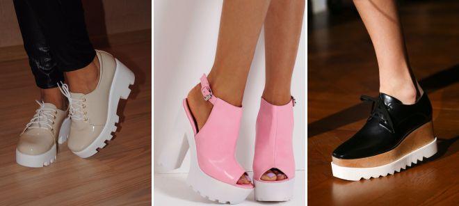 812f350ea Самая модная женская обувь весна 2018 года – стильные ботинки ...