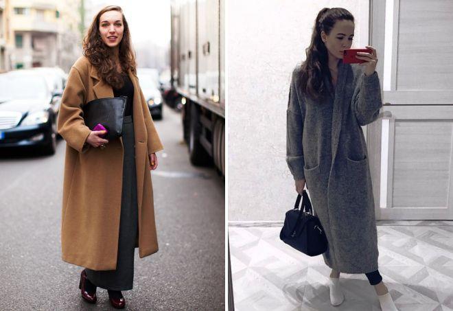 37316c85da4b Модное женское длинное пальто – с чем носить, какие аксессуары и ...