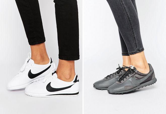 3d18fc1f Модные женские кожаные кроссовки – Адидас, Найк и Рибок, летние и ...