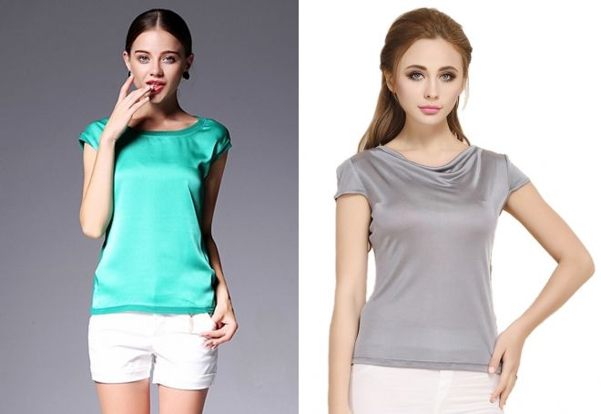 стильные женские футболки 2019